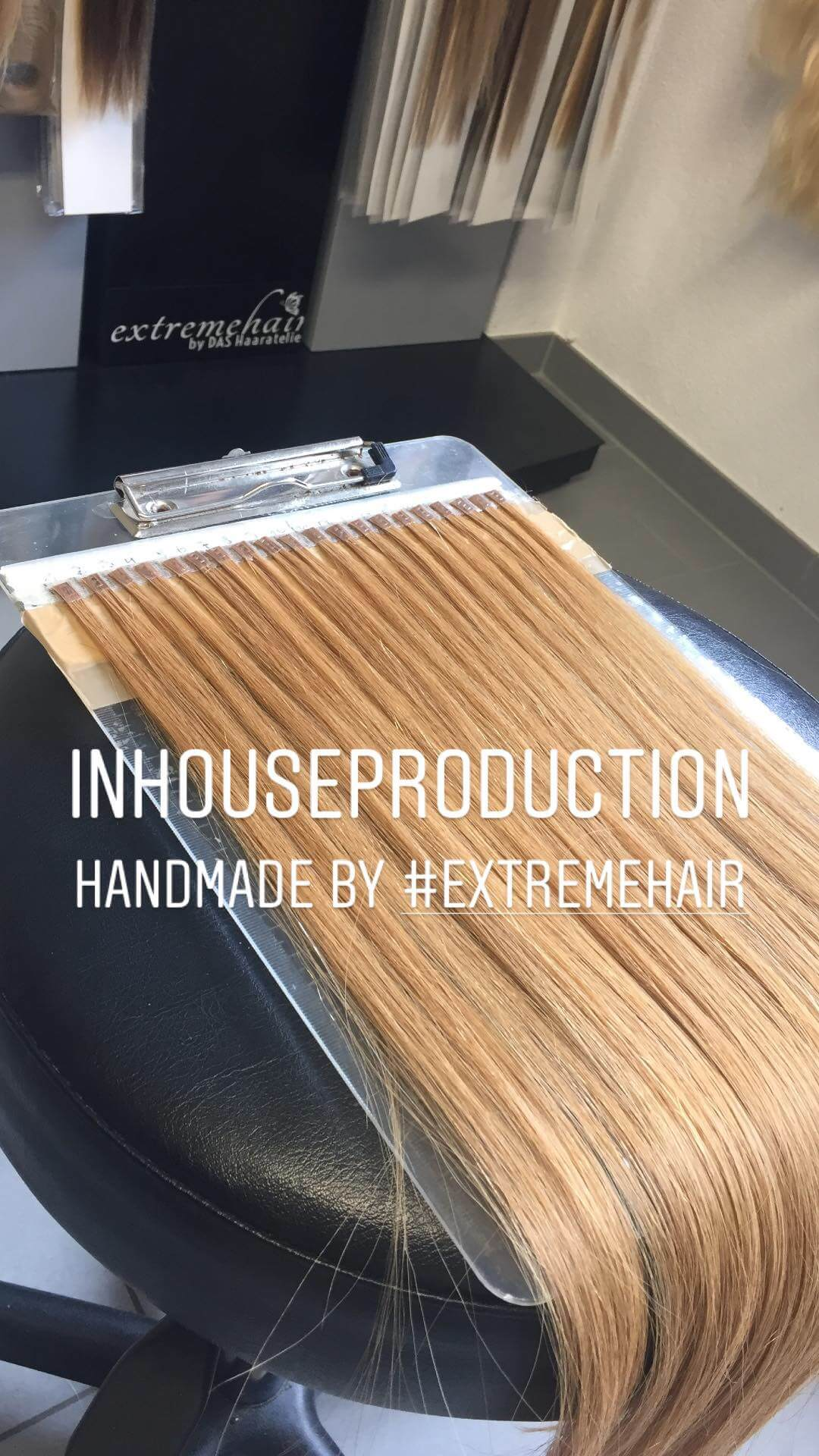 Inhouseproduction Haarverarbeitung